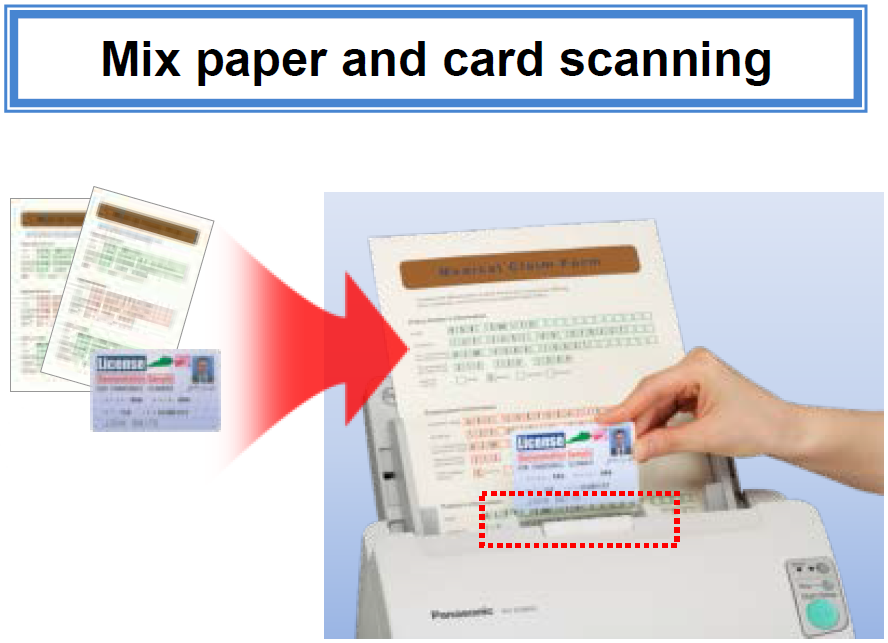 panasonic multiple embossed card scanning 2